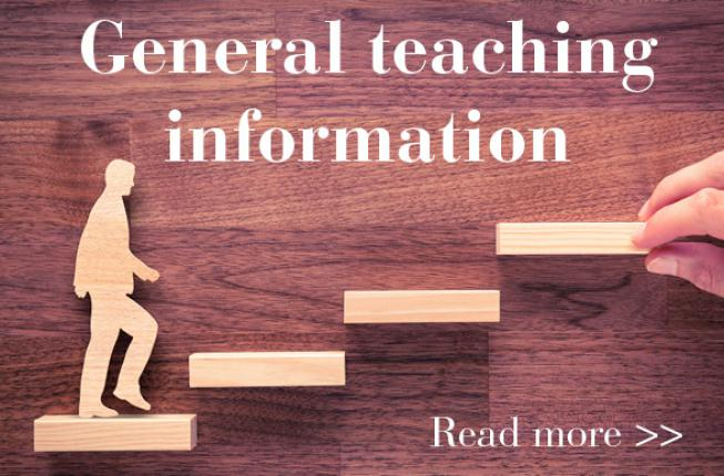 Collegamento a General teaching information